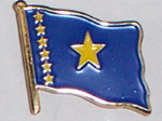 Congo, Democratic Republic of (old) Country Flag Enamel Pin Badge